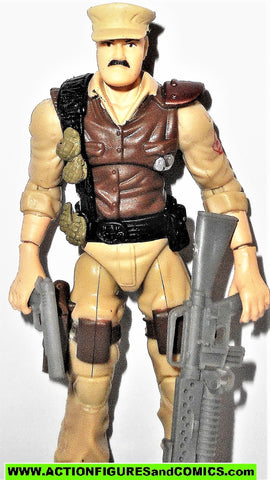 gi joe LEATHERNECK 2008 v6 Mission Brazil Awe striker driver 25th anniversary