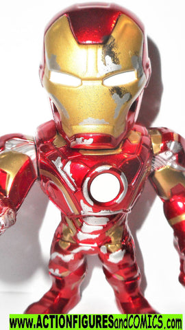 Marvel metals die cast IRON MAN Mark V variant 4 inch inch Jada toys