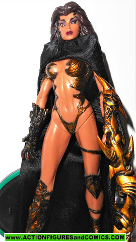 WITCHBLADE moore collectibles SARA PEZZINI All black cape complete 1998 6 inch