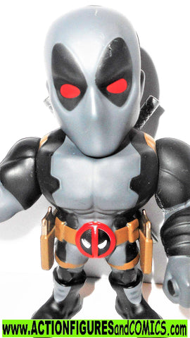 Marvel metals die cast DEADPOOL GRAY x-men force 4 inch univese