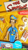 simpsons OFFICER LOU police playmates world of springfield moc