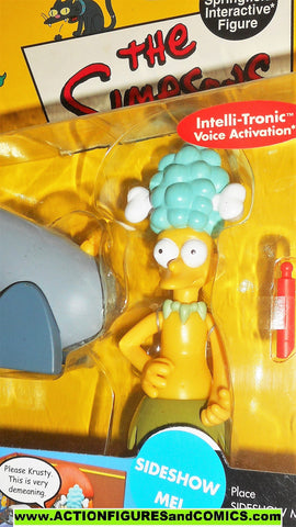 simpsons SIDESHOW MEL 2001 playmates world of springfield wos moc
