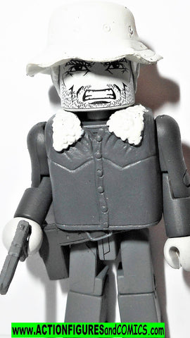 minimates DALE winter jacket the walking dead black white amc tv show