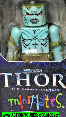 minimates FROST GIANT 2 Thor movie marvel universe moc mib