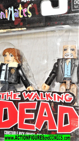 minimates Constable RICK GRIMES Douglas Monroe the walking dead moc