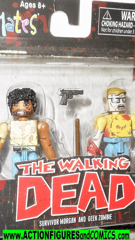 minimates Survivor MORGAN Geek ZOMBIE the walking dead moc