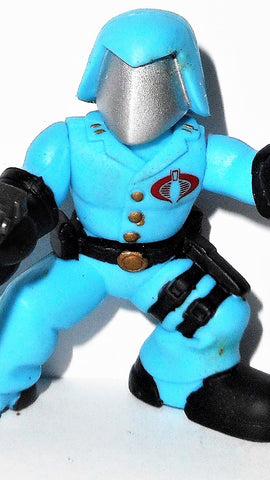 gi joe combat heroes COBRA COMMANDER complete pvc action figures