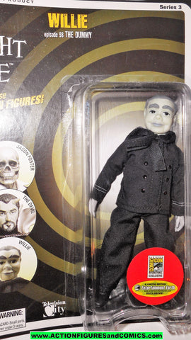 Twilight Zone WILLIE the dummy sdcc comic con exclusive mego retro moc mib