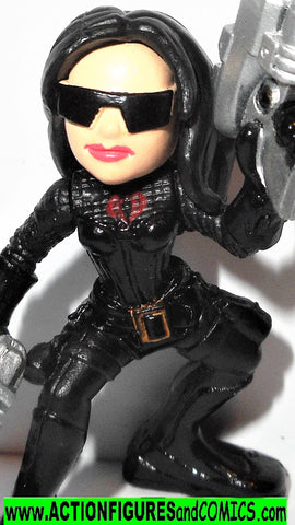 Gi joe combat heroes BARONESS Gijoe rise of cobra EMBLEM movie pvc