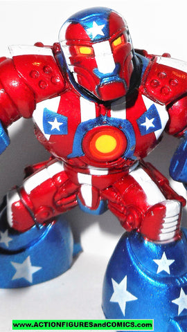 Marvel Super Hero Squad IRON PATRIOT Iron man war mechs armored avenger universe