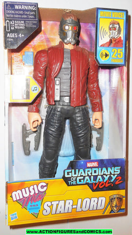 marvel guardians of the galaxy STAR LORD Music mix 12 inch movie