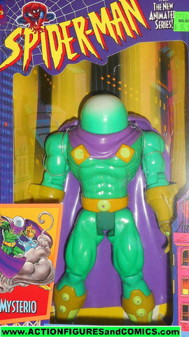 marvel universe toy biz MYSTERIO 10 inch SPIDER-MAN Animated series mib moc