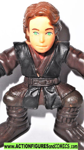 STAR WARS Galactic heroes ANAKIN SKYWALKER blue eyes ep III pvc