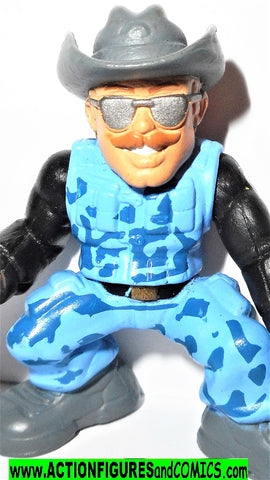 Gi joe combat heroes WILD BILL Gijoe rise of cobra movie pvc