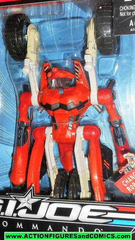 Gi joe BAT RED BANSHEE NINJA sigma 6 six 8 inch action figure hasbro moc mib