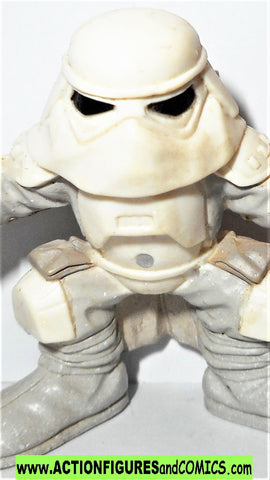 STAR WARS galactic heroes SNOWTROOPER hoth stormtrooper action figure pvc