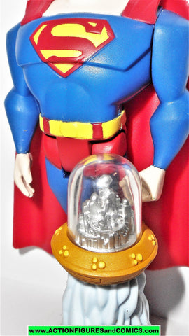 justice league unlimited SUPERMAN city of kandor brainiac bottle dc universe
