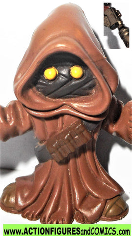 STAR WARS galactic heroes JAWA gun left hand jawas pvc action figure