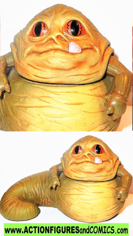 STAR WARS galactic heroes JABBA The HUTT complete 2004 pvc