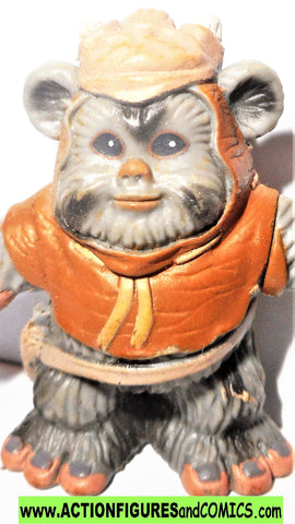 STAR WARS galactic heroes EWOK WARRIOR sling action figures complete