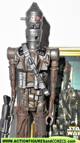 star wars action figures IG-88 2000 power of the jedi potj complete hasbro