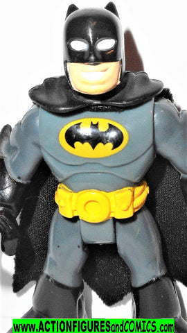 DC imaginext BATMAN grey black fisher price justice league super friends