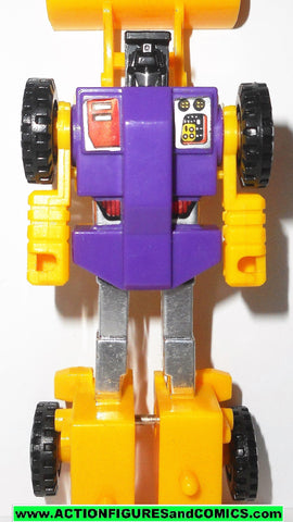 Transformers Generation 2 SCRAPPER g2 yellow DEVASTATOR constructicons fig
