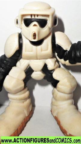 star wars galactic heroes BIKER SCOUT clean version complete 2004