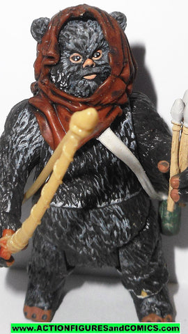 star wars action figures GRAAK ewok warrior saga 2006 hasbro toys