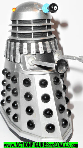 doctor who action figures DALEK silver black Death to the Daleks
