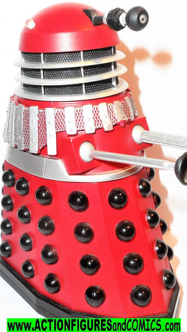 doctor who action figures DALEK ALPHA red silver chilren of the revolution