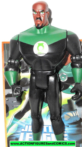 justice league unlimited GREEN LANTERN John Stewart with TRADING CARD