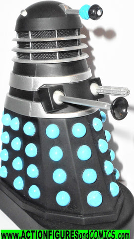 doctor who action figures DALEK black blue dalek invasion of the earth