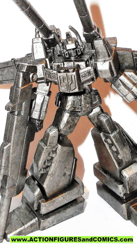 Transformers pvc VICTORY SABER pewter ALL UPGRADE CHASE PARTS scf