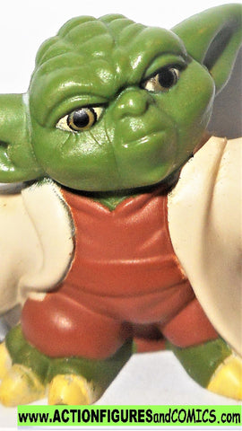 STAR WARS galactic heroes YODA complete action figures ARF pvc