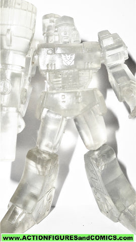 transformers pvc MEGATRON SCF CLEAR version heroes of cybertron takara