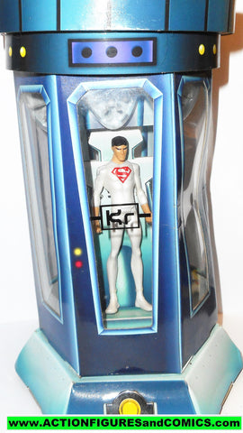 Young Justice SUPERBOY cloning chamber pod white suit superman dc universe moc mib