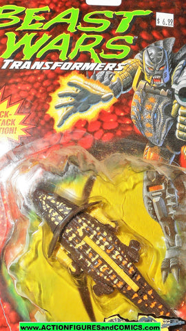 Transformers Beast Wars IGUANUS ROCK CARD 1995 1996 OPENED MOC