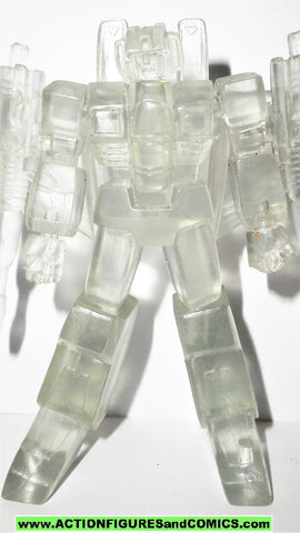 Transformers pvc STARSCREAM clear heroes of cybertron SCF takara