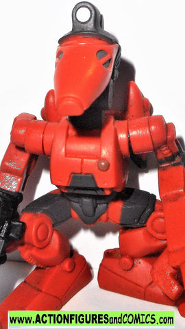 STAR WARS galactic heroes ROCKET BATTLE DROID red complete