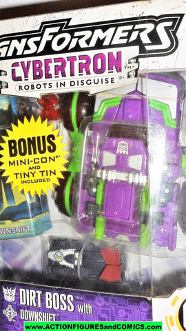 Transformers Cybertron DIRT BOSS downshift walmart mini con bonus moc mib