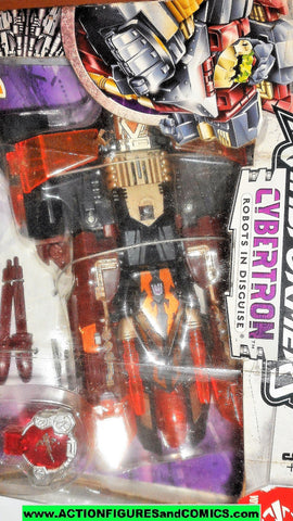 Transformers Cybertron DARK CRUMPLEZONE black orange voyager class moc mib