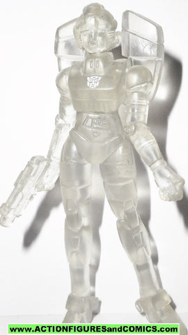 transformers pvc ARCEE clear action figures heroes of cybertron G1