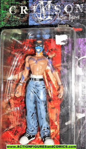 Crimson JOE the Indian 1999 cliffhanger action figures dynamic forces moc