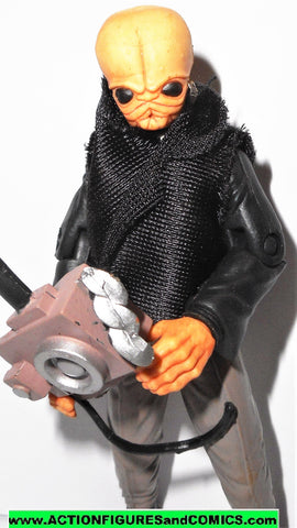 star wars action figures Cantina Band Member NALAN CHEEL saga 2006 2007