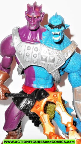 masters of the universe TWO BAD 2002 repaint motu he-man action figures