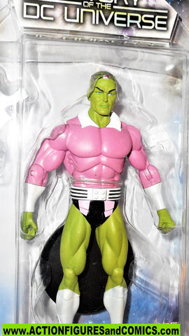 dc direct BRAINIAC history of the dc universe Superman moc