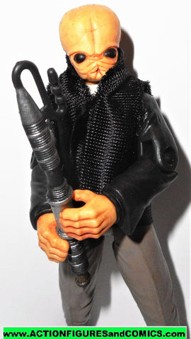star wars action figures Cantina Band Member FIGRIN D'AN saga 2006 2007