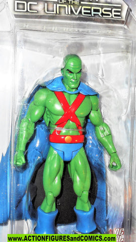 dc direct MARTIAN MANHUNTER history of the dc universe collectibles moc