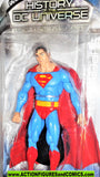 dc direct SUPERMAN history of the dc universe Classic collectibles moc